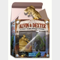 Настольная игра Билет на поезд: Расширение «Элвин и Декстер» / Ticket to Ride: The Monster Expansion Alvin and Dexter