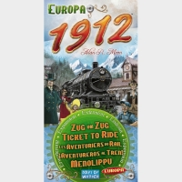 Настольная игра Билет на поезд: Расширение Европа 1912 / Ticket to Ride: Europa 1912