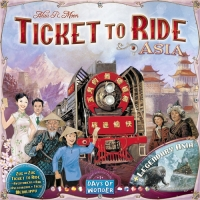 Настольная игра Билет на поезд: Азия/ Ticket to Ride: Asia. Expansion Map Collection 1
