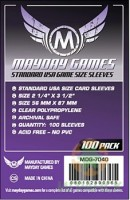 Протекторы Mayday Standart USA Game Size Sleeves (56*87)