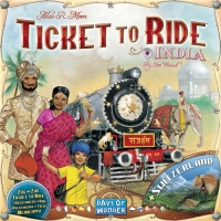 Настольная игра Билет на поезд: Индия / Ticket to Ride Map Collection: Volume 2 - India and Switzerland