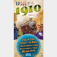 Настольная игра Билет на поезд: Расширение USA 1910 / Ticket to Ride: USA 1910