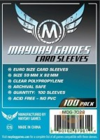 Протекторы Mayday Euro Card Sleeves (59*92)